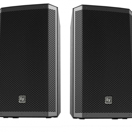 electro voice ev zlx 12 15p active pa speaker pair