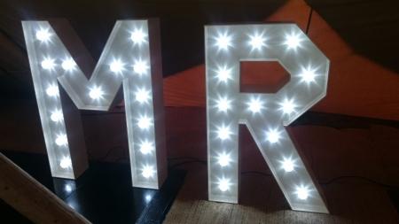 light up letters mr