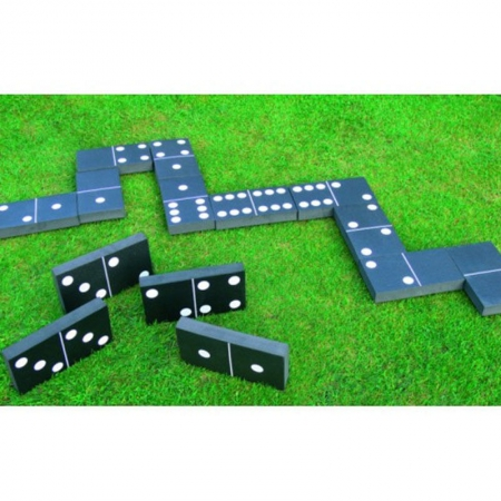 Giant Garden Foam Dominoes For Hire