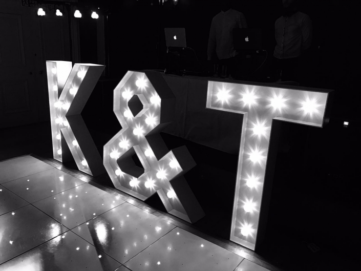 goodwood house k t light up individual letters