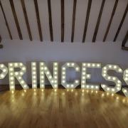 princess pr i n c e s individual letters at skylarks no table