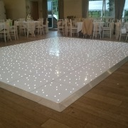 white led dancefloor at marwell hotel