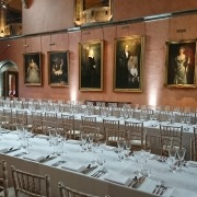 cowdray house uplighters set to white