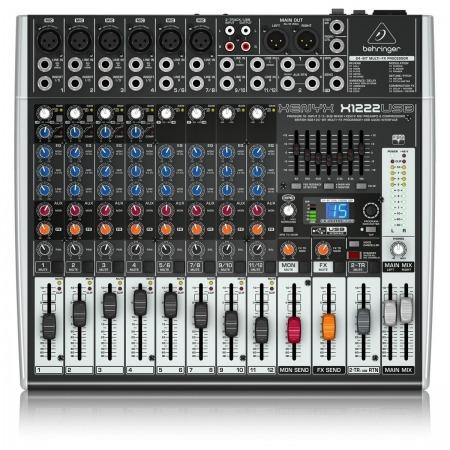 Behringer Xenyx 1222fx 12 Channel Mixing Desk Mixer 1