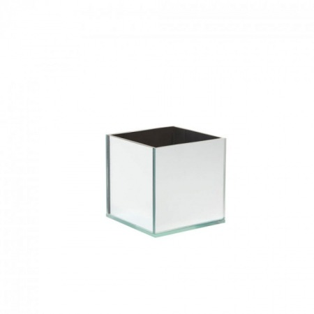20cm mirror box cube with clear top