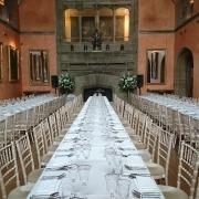cowdray house banquet table chavari chairs