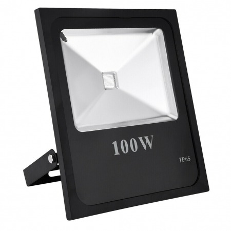 100W LED RGB Floodlight With Remote 16 Colors 1