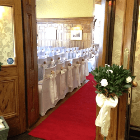 botleigh grange bay rose tree and chair covers