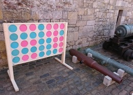 southsea castle giant connect 4 in a row