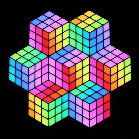 Rubix RGB 3D Panel 1